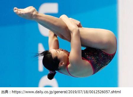 三上紗也可さん(飛び込み)が東京オリンピック出場権を獲得!プロフィールや実績や所属クラブ(コーチ)などの情報