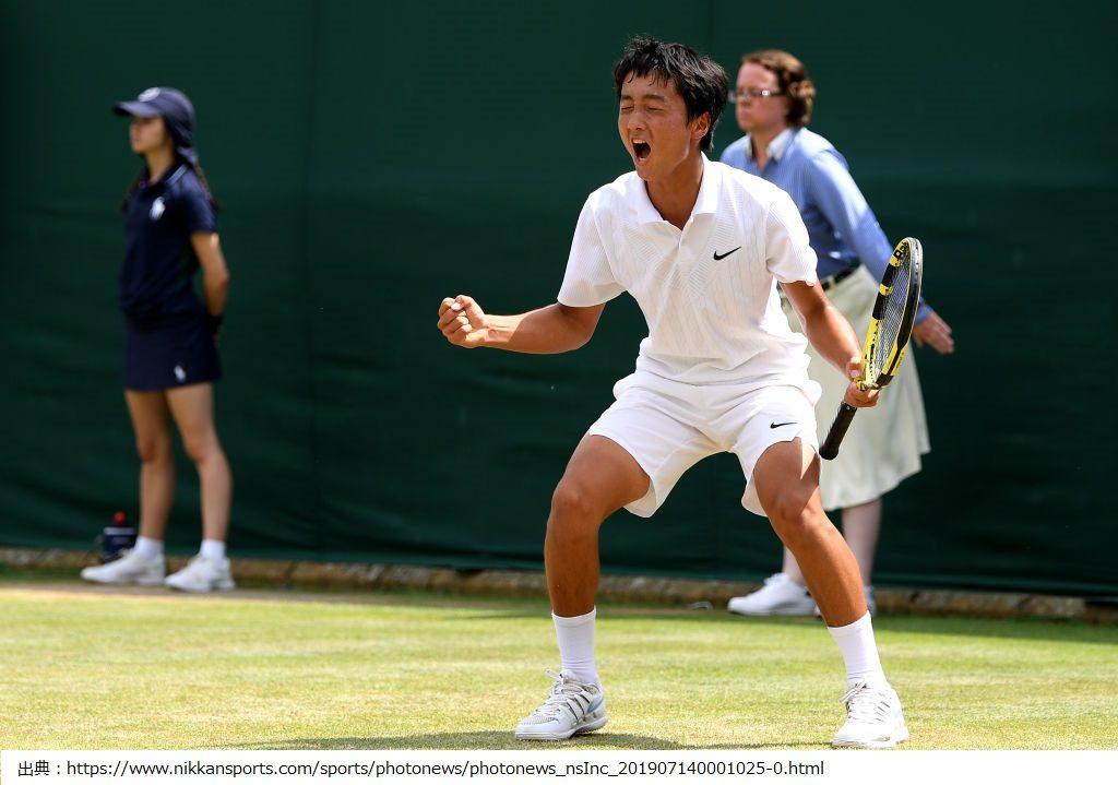望月慎太郎選手がテニスで日本人初の快挙!身長や出身地や高校などのプロフィールや兄弟などの家族構成は!?世界ランキングは?