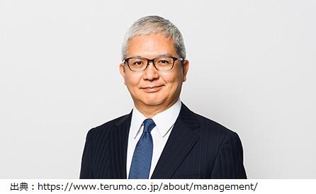 テルモの社長 佐藤慎次郎さんの経歴や学歴や年収などのプロフィールはこちら
