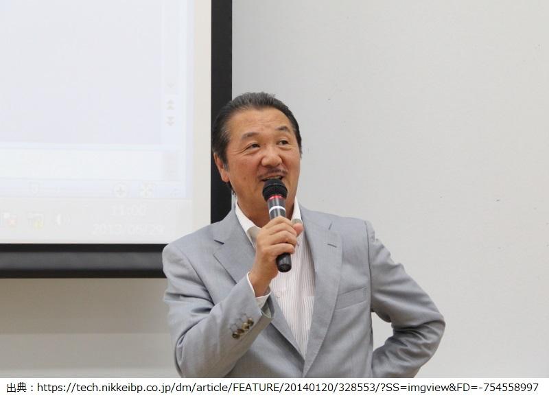 亀田隆明理事長が公演している写真