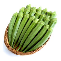 ルテイン,野菜,含有量,11位,オクラ