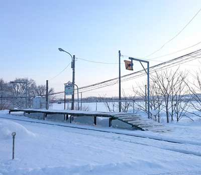 宗谷本線の南美深駅