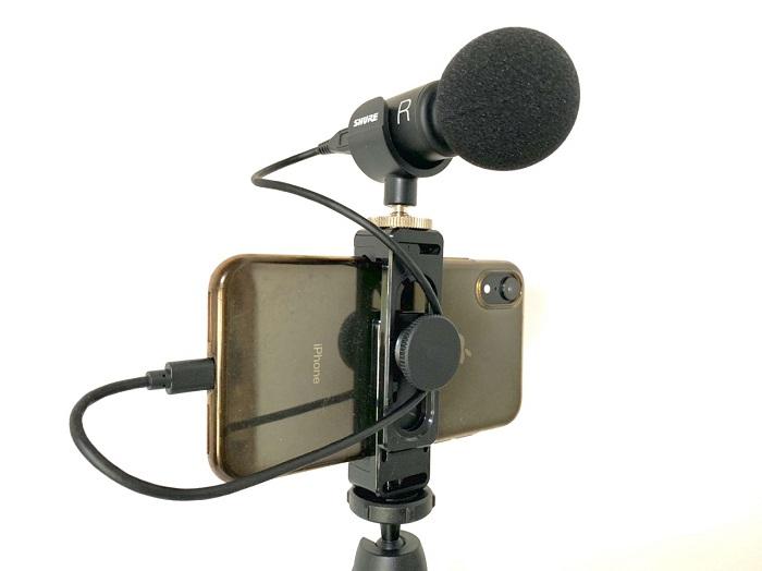 SHURE mv88+ビデオキットマイクの価格や最安値は?使い方は簡単なの?