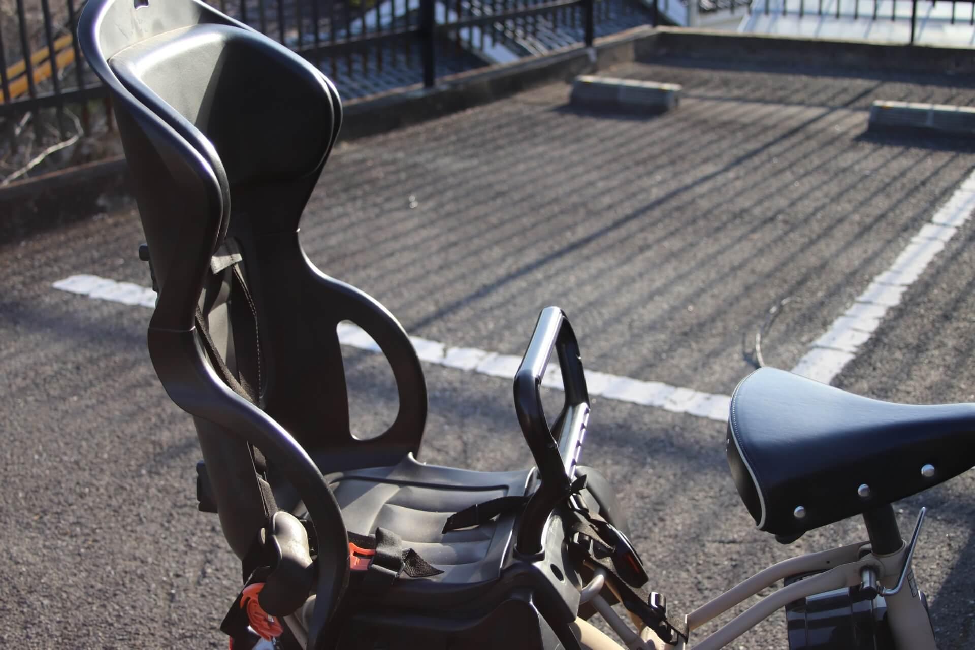 自転車のチャイルドシート